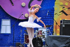 Le ballet des enfants russes Photographie stock libre de droits