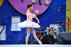 Le ballet des enfants russes Images libres de droits
