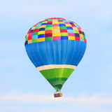 Le ballon à air chaud photgrphed chez le Bealton, fête aérienne de cirque de vol de VA image libre de droits