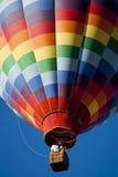 Le ballon à air chaud photgrphed chez le Bealton, fête aérienne de cirque de vol de VA Photos libres de droits