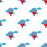 Le ballon à air chaud photgrphed chez le Bealton, fête aérienne de cirque de vol de VA illustration de vecteur