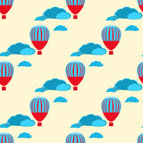 Le ballon à air chaud photgrphed chez le Bealton, fête aérienne de cirque de vol de VA illustration libre de droits