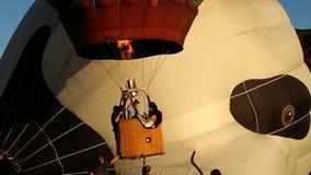Le ballon à air chaud photgrphed chez le Bealton, fête aérienne de cirque de vol de VA Image stock