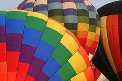 Le ballon à air chaud photgrphed chez le Bealton, fête aérienne de cirque de vol de VA Images stock