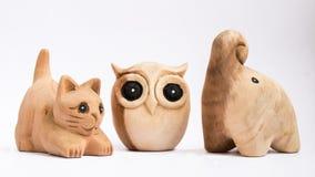 Le bambole di legno Fotografie Stock Libere da Diritti