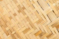Le bambou thaïlandais de modèle handcraft photo stock