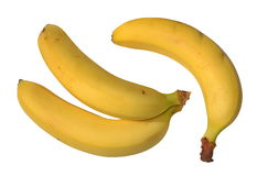 Le banane sono gialle Fotografie Stock Libere da Diritti