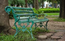 Le banc de solitude photographie stock libre de droits