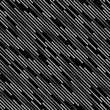 Le bande dei punti di semitono, Vector il modello senza cuciture Fotografia Stock Libera da Diritti