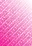 Le bande diagonali bianche strutturano nel fondo rosa graduato illustrazione di stock