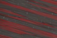 Le bande rosse 3d della diagonale del fondo dell'eroe della parete rendono la pietra Fotografia Stock Libera da Diritti
