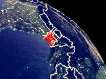 Le Bangladesh de l'espace illustration libre de droits