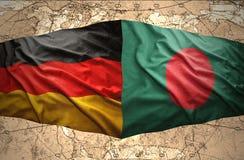 Le Bangladesh et l'Allemagne Image stock