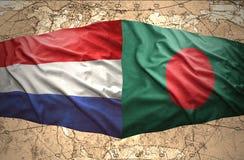 Le Bangladesh et les Pays-Bas Photos libres de droits