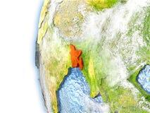 Le Bangladesh sur le modèle de la terre Photos libres de droits
