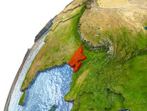 Le Bangladesh sur terre Photographie stock libre de droits