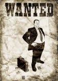 Le banquier arrogant illustration libre de droits
