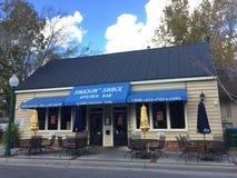 Le bar à huîtres de Shack de ` de Shuckin Photo stock