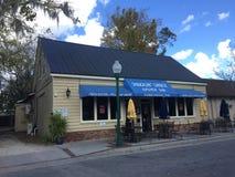 Le bar à huîtres de Shack de ` de Shuckin Photo libre de droits