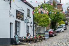 Le bar des Rois Arms, Arundel, le Sussex occidental images stock