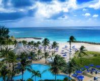 Le Barbados Hilton fotografia stock libera da diritti