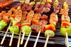Le barbecue est pain grillé Image libre de droits