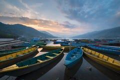 Le barche Fotografia Stock