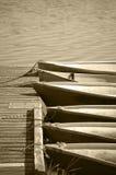 Le barche si sono ancorate Fotografia Stock