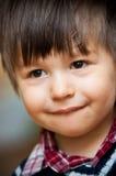 le barn för pojke royaltyfria foton