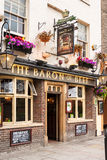 Le baron du bar de boeuf Cambridge, Angleterre Image stock
