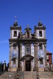 Le baroque de Porto images libres de droits