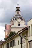 Le baroque de Vilnius Image libre de droits
