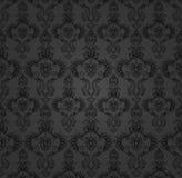 Le baroque noir de contexte Photo stock