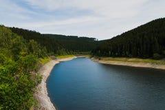 Le barrage d'Oker Photographie stock libre de droits