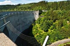 Le barrage d'Oker Image libre de droits