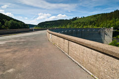 Le barrage d'Oker Images libres de droits