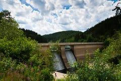 Le barrage d'Oker Photographie stock