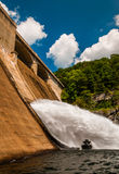 Le barrage de Prettyboy, le long de la poudre tombe dans le comté de Baltimore, Maryl Photos stock