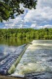 Le barrage de Z est une échelle de poissons Images stock