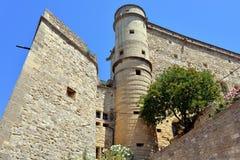 Le Barroux castle Stock Image