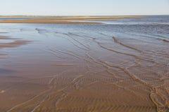 Le bas-fond dans le fleuve Lena Photographie stock libre de droits