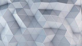 Le bas poly abrégé sur 3D construction de technologie rendent Images libres de droits