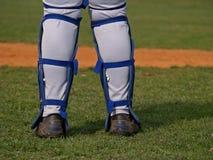 Le base-ball/écran protecteur Photos stock
