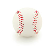Le base-ball d'isolement Images stock