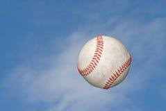 Le base-ball sautent vers le haut image libre de droits