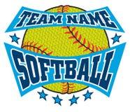 Le base-ball texturisé Team Name Design illustration de vecteur