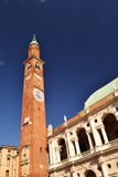 Le Basilca d'Andrea Palladio à Vicence Italie Photographie stock libre de droits