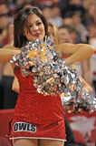 Le basket-ball 2013 des hommes de NCAA - majorette ou danseur Photos stock