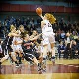 Le basket-ball des femmes Image stock