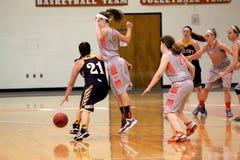 Le basket-ball des femmes de NCAA Photo libre de droits